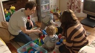 The Girling family are worried about losing their working tax credits