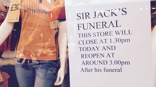 Sign at Wolves superstore