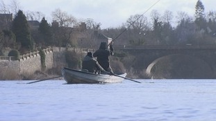 Fishermen on the River Tweed