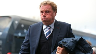 Harry Redknapp quits as QPR manager, blaming knee surgery
