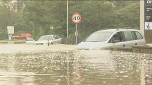Dorset downpour causes flash floods