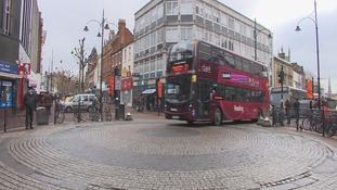 Shared space scheme in Reading