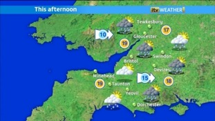 east weather map
