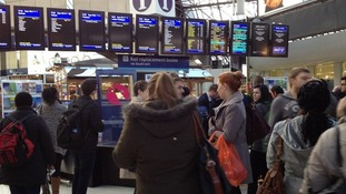 Easter chaos for rail passengers in the Thames Valley