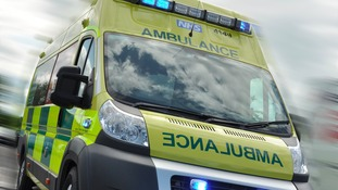 Seven people were injured in a shunt on the M6 this morning