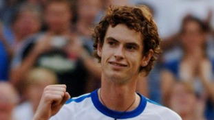 A fresh faced Murray reaches the fourth round of Wimbledon in 2006.