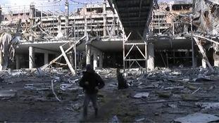 Grandeur to rubble: Inside Donetsk International Airport