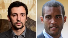 Ralf Little (left) has come under fire for his comments on Clarke Carlisle
