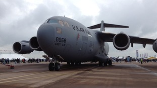 Boeing C-17A Globemaster III at Fairford
