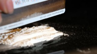 £4000 of cocaine was seized in Galashiels