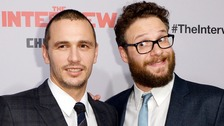 James Franco and Seth Rogen joined US cinemas-goers when the film was released on Christmas Day.
