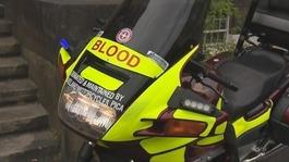 Blood Bikes Cumbria gets new bike