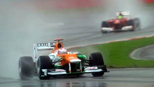 Sahara Force India driver Paul Di Resta out of Grand Prix