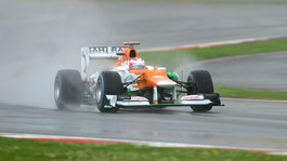 Sahara Force India driver Paul Di Resta during qualifying for the British Grand Prix at Silverstone Circuit, Silverstone.