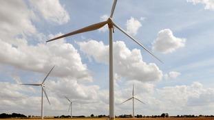 The wind farm will be between Glenluce, New Luce and Kirkcowan