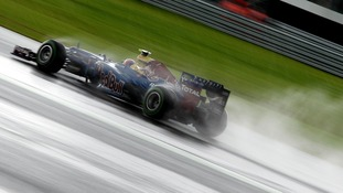 Webber overtook Fernando Alonso in the closing stages of the race