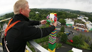 World record smashed by Lego tower