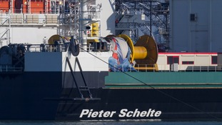 Picture of the Pieter Schelte ship