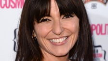 Davina McCall said she feels like she 'completely fits in' at the meetings.