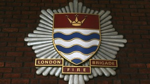 A London Fire Brigade badge