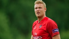 Andrew Flintoff in action for Lancashire Lightning