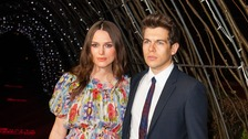 Kiera Knightley and her husband James Righton.