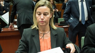 Federica Mogherini, EU high representative for foreign policy