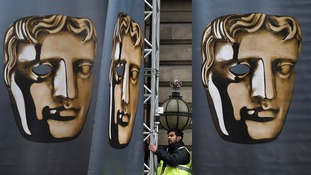 The Baftas are being held tonight.