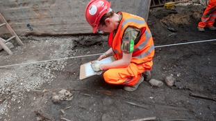 Crossrail project uncovers secrets of Bedlam burial ground