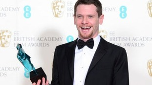 Jack O'Connell at the BAFTAs