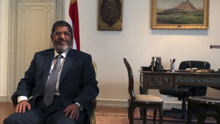Egyptian President Mohamed Mursi
