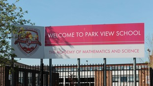Park View Schools - one of those linked to the Trojan Horse plot