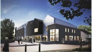 Artists impression of Thetford Riverside development