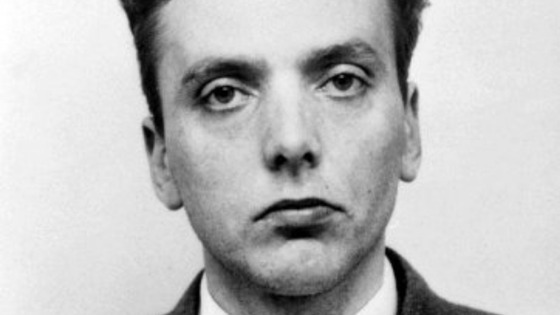 Ian Brady black and white picture