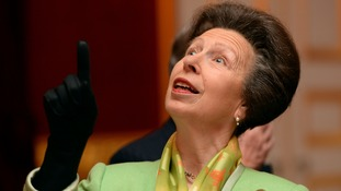 Princess Anne is
