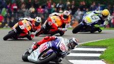 The 2009 MotoGP at Donington Park