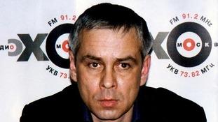 Murder suspect Dmitri Kovtun.