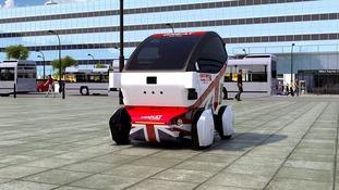 The driverless pod