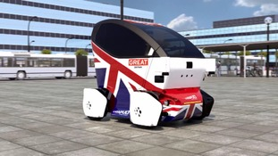 One of the proposed driverless pods.
