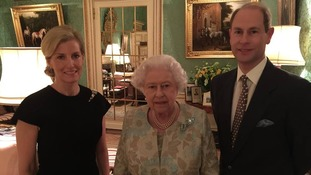 Countess of Wessex, the Queen and Prince Edward