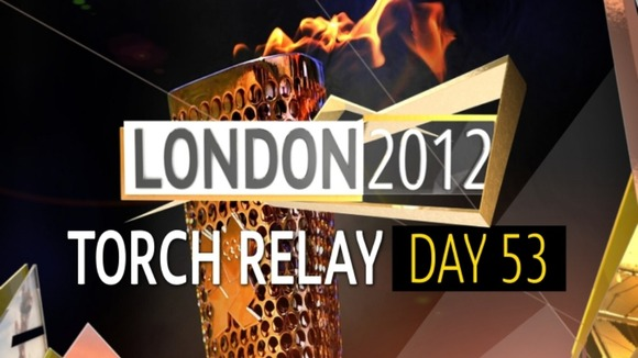 Olympic Torch Relay : Day 53