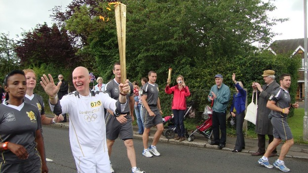 Torch reaches Stoke Mandeville
