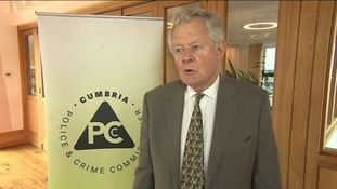 Cumbria police and crime commissioner Richard Rhodes