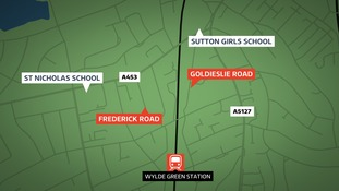 Police are investigating two reports of a man exposing himself to schoolchildren