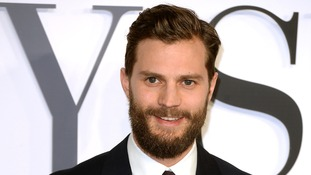 Jamie Dornan attending the UK film premiere of Fifty Shades Of Gre