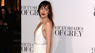 Dakota Johnson attending the UK film premiere of Fifty Shades Of Grey