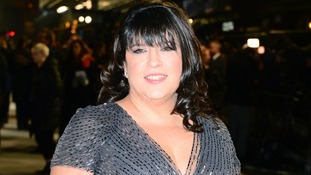 E L James attending the UK premiere of Fifty Shades of Grey