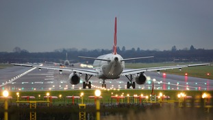 Lucky for some... Gatwick is on course for a record breaking Valentine's weekend