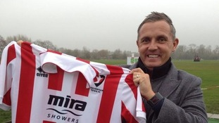Paul Buckle only took over at Cheltenham Town in November.
