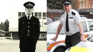 Britain's longest serving police officer hangs up his badge.